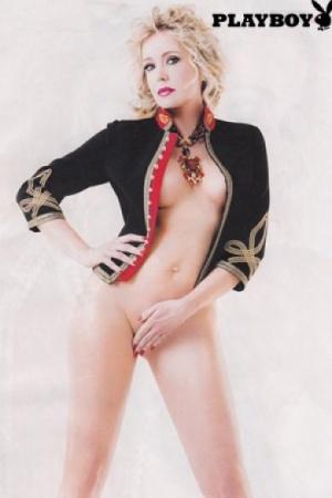 Brigitta Boccoli nuda per Playboy