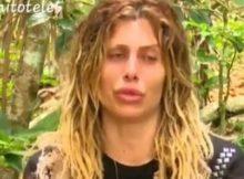 Paola Caruso lacrime in diretta Isola dei famosi supervivientes_09222148_07212504